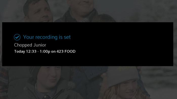 Recording is Set