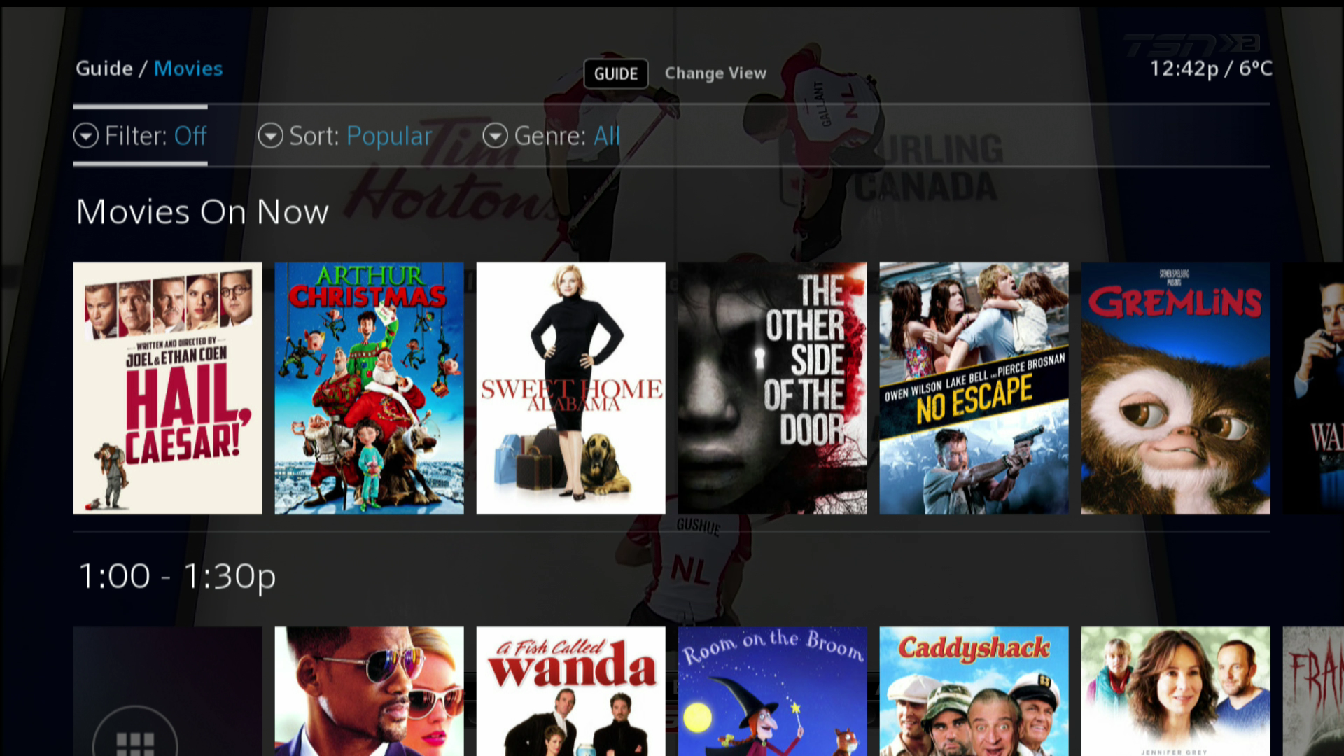 How to filter your Guide View in BlueSky TV