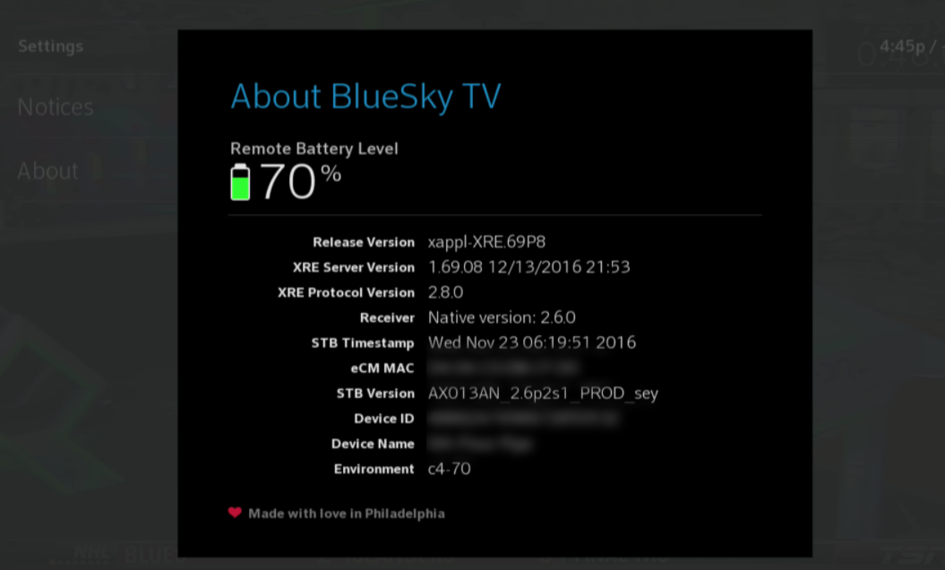 Troubleshooting BlueSky TV remote control issues