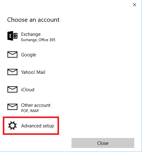 Email Support: How to set up Shaw Email in Windows 10 Mail