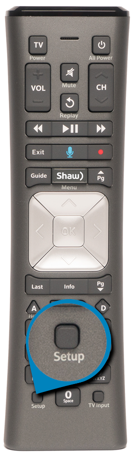 How to program your Shaw remote control