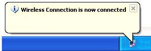 Windows XP Notification