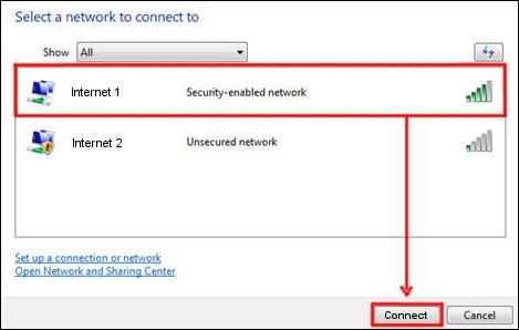 Windows Vista Connect