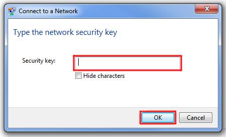 Windows 7 Security Key