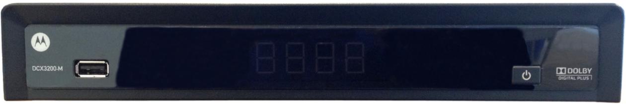 Motorola DCX3200-M Digital Box - front