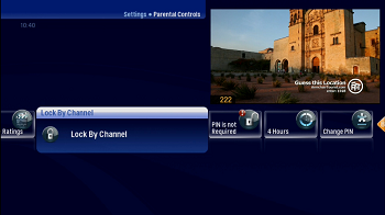 Parental Controls Locking Content by Channel