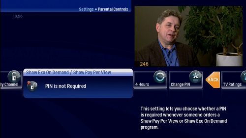 Parental Controls Locking PPV and VOD