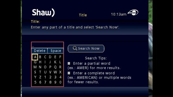 Classic Guide keypad