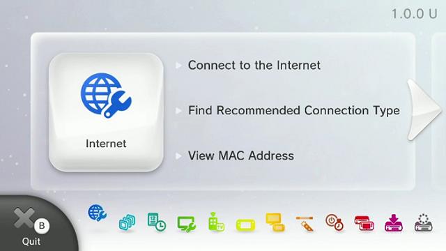 WiiU Basic Wireless Setup