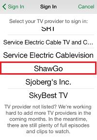 A&E App ShawGo