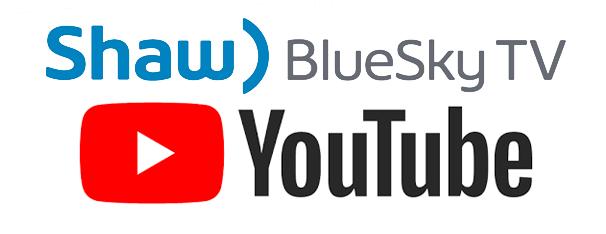 BlueCurve TV / YouTube Logo