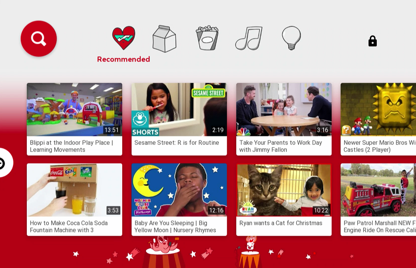 YouTube Kids Recommended