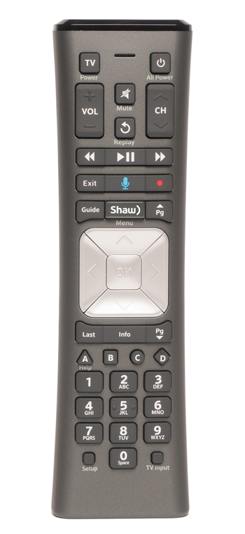 BlueSky TV Voice Remote Control