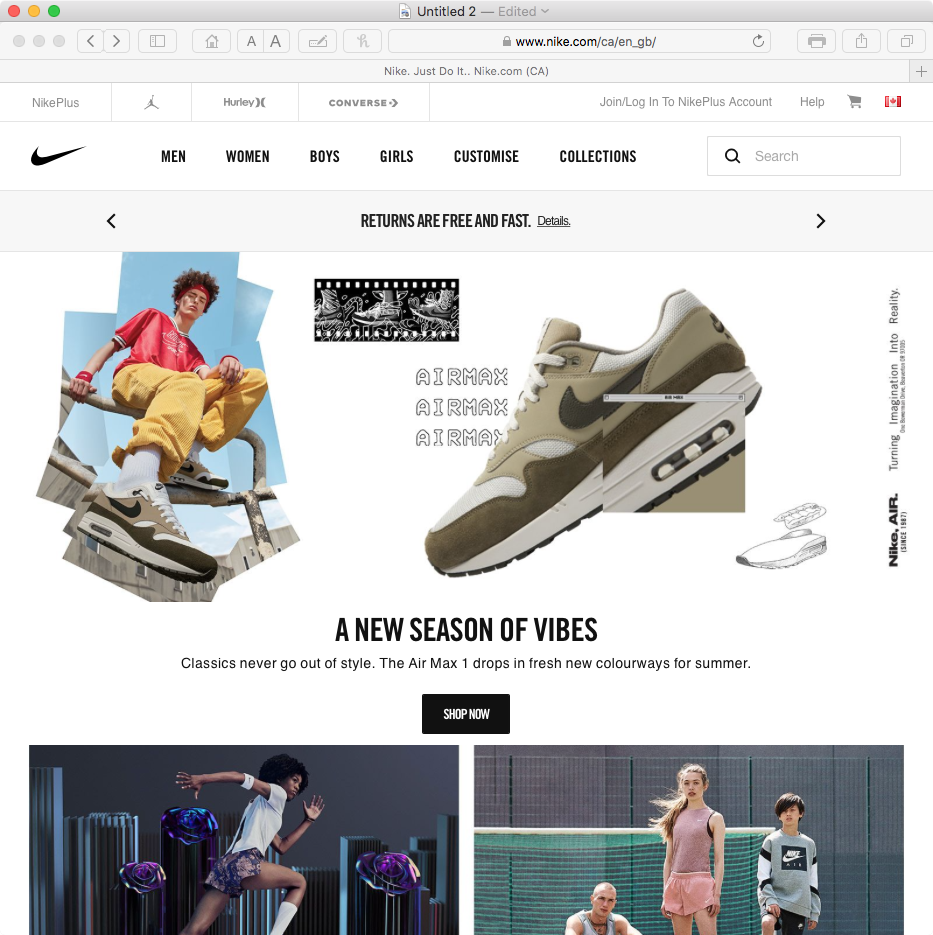 Nike Website blocked??? - Shaw Support
