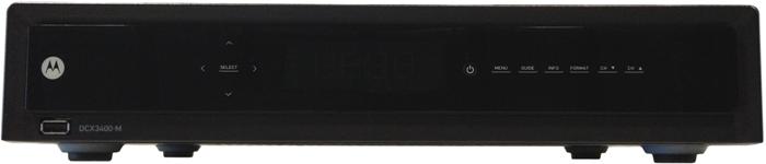 DCX3400 Cable Box
