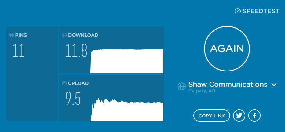 Download speed very slow after contract renewal - Shaw Support