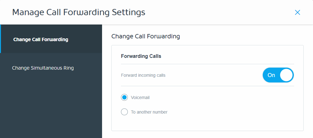 Call Forward Settings