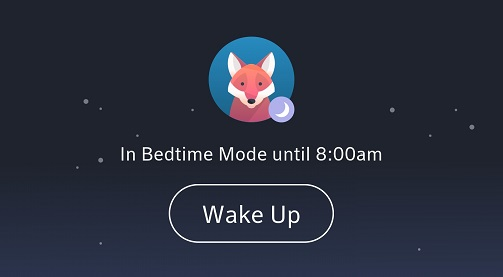 BlueCurve Home app:Wake Up