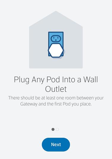 Plug in BlueCurve Pod
