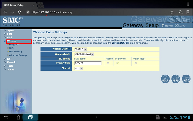shaw smc log in page