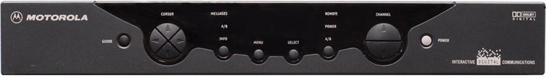 Motorola DCT2000HT Digital Box - front