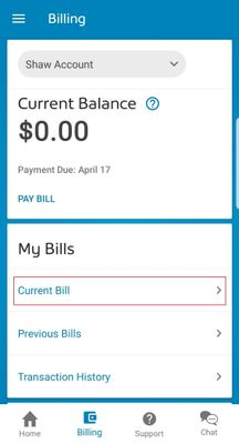 My Shaw App Current Bill.jpg