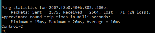 Random Ping Spikes and Packet Loss late at night? - Shaw Support